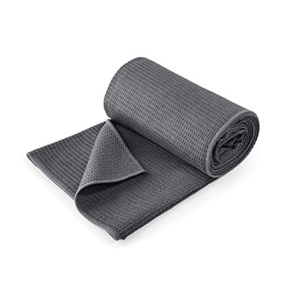 asciugamano yoga grip Lotuscrafts antracite