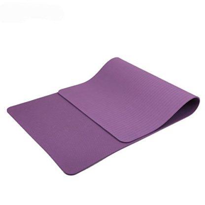 materassino yoga ecologico MaxYoga viola