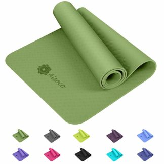 tappetino yoga aisoco tpe 6mm verde