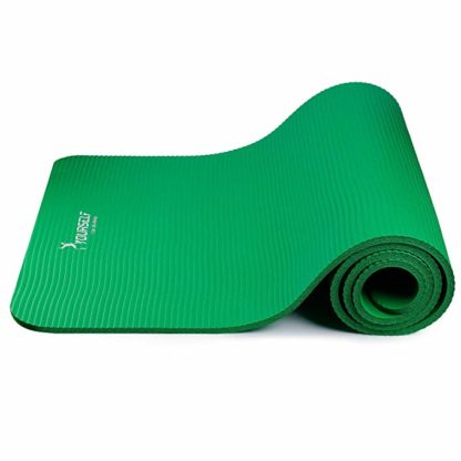 tappetino pilates fitness syourself verde