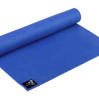 yogistar basic 4mm antiscivolo pvc blu