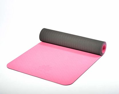 yoga mat TPE ecologico JAS Namaste 6mm rosa