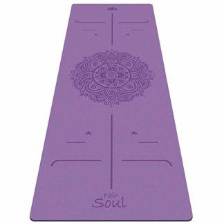 yoga mat professionale gomma naturale Fair Soul